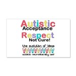 Autistic Acceptance Wall Decal