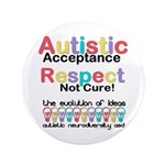 Autistic Acceptance Button
