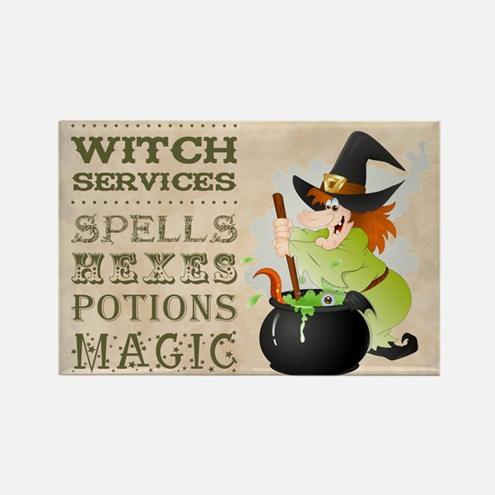WITCH SERVICES Magnets