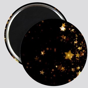 black gold stars Magnets