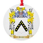 Saby Round Ornament