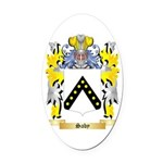 Saby Oval Car Magnet