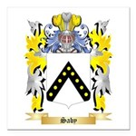 Saby Square Car Magnet 3