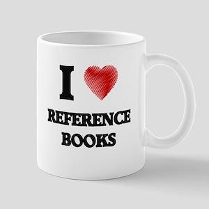 I Love Reference Books Mugs