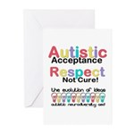 Autistic Acceptance Greeting Cards