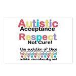 Autistic Acceptance Postcards (Package of 8)