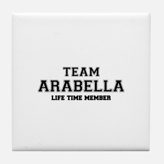 Team ARABELLA, life time member Tile Coaster