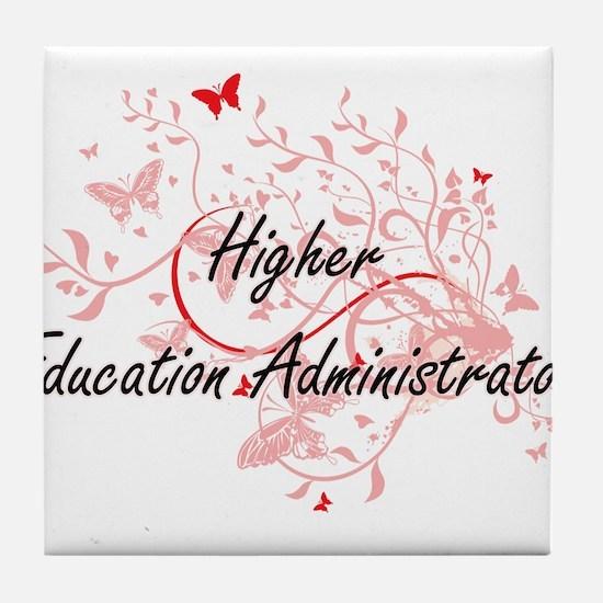 Higher Education Administrator Artist Tile Coaster