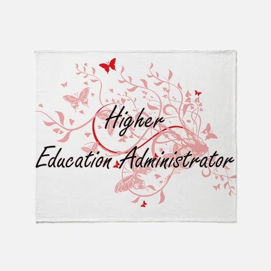 Higher Education Administrator Artis Throw Blanket
