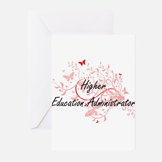 Higher Education Administrator Arti Greeting Cards