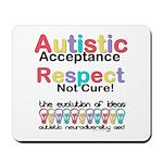 Autistic Acceptance Mousepad