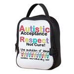 Autistic Acceptance Neoprene Lunch Bag