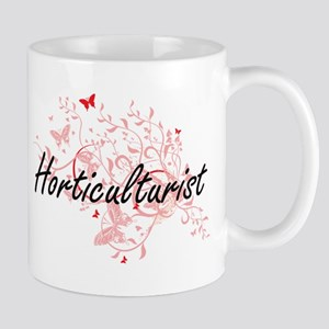 Horticulturist Artistic Job Design with Butte Mugs