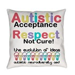 Autistic Acceptance Everyday Pillow