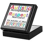 Autistic Acceptance Keepsake Box