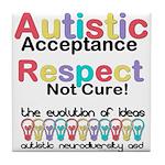 Autistic Acceptance Tile Coaster