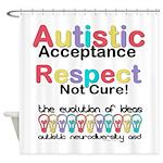 Autistic Acceptance Shower Curtain