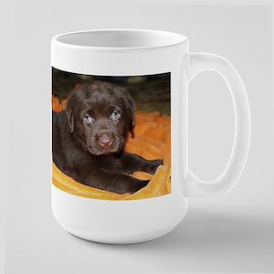 labrador retriever chocolate puppy Mugs