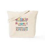 Autistic Acceptance Tote Bag