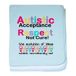 Autistic Acceptance baby blanket