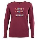 Autistic Acceptance Plus Size Long Sleeve Tee