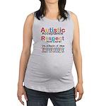 Autistic Acceptance Maternity Tank Top