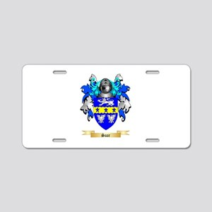 Saar Aluminum License Plate