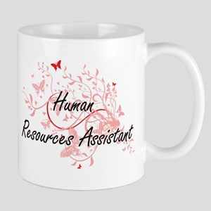 Human Resources Assistant Artistic Job Design Mugs