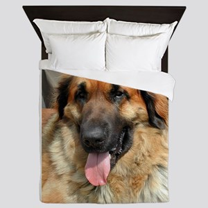 leonberger Queen Duvet