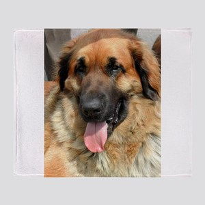 leonberger Throw Blanket
