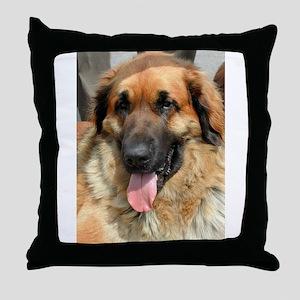 leonberger Throw Pillow