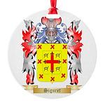 Siguret Round Ornament