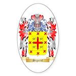 Siguret Sticker (Oval 50 pk)