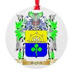 Sigfrid Round Ornament