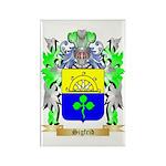Sigfrid Rectangle Magnet (100 pack)