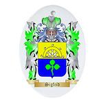 Sigfrid Oval Ornament
