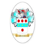 Sievers Sticker (Oval 50 pk)