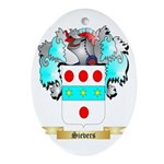 Sievers Oval Ornament