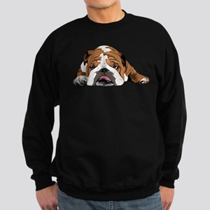 Teddy the English Bulldog Hoodie Sweatshirt