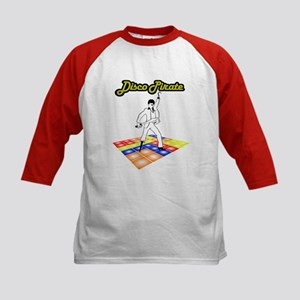 Disco Pirate Kids Baseball Jersey