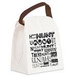 Hunt Canvas Lunch Bag
