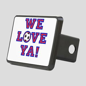 We Love Ya! USA Soccer Hitch Cover