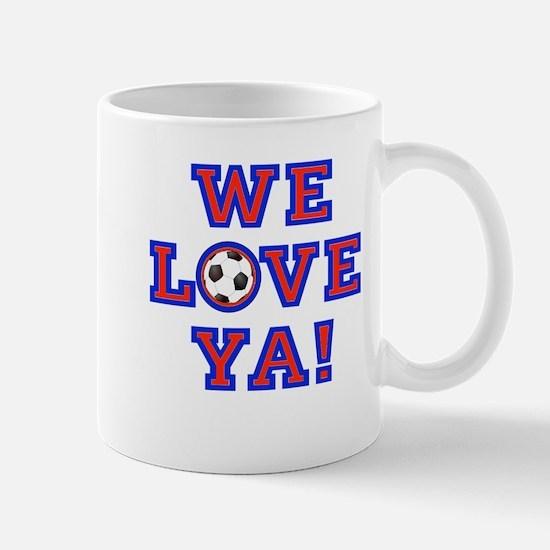 We Love Ya! USA Soccer Mugs