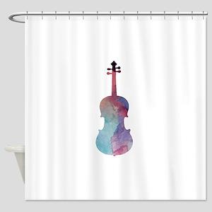 Viola Shower Curtain