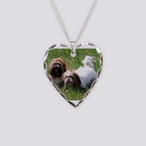 lhasa apso group Necklace