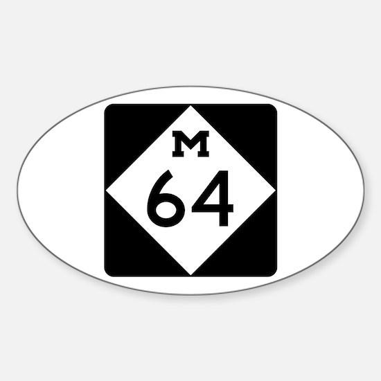 Michigan Highway 64 Decal
