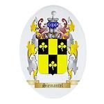 Siemantel Oval Ornament
