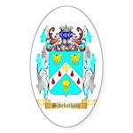 Sidebotham Sticker (Oval 50 pk)