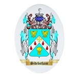 Sidebotham Oval Ornament