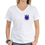 Siddle Women's V-Neck T-Shirt